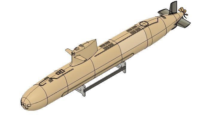 1:120 Spanish S-80 submarine Capture3