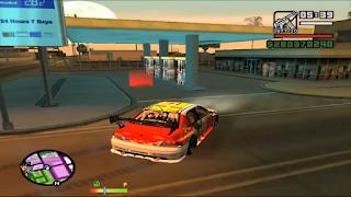 مود البنزين GTA SA