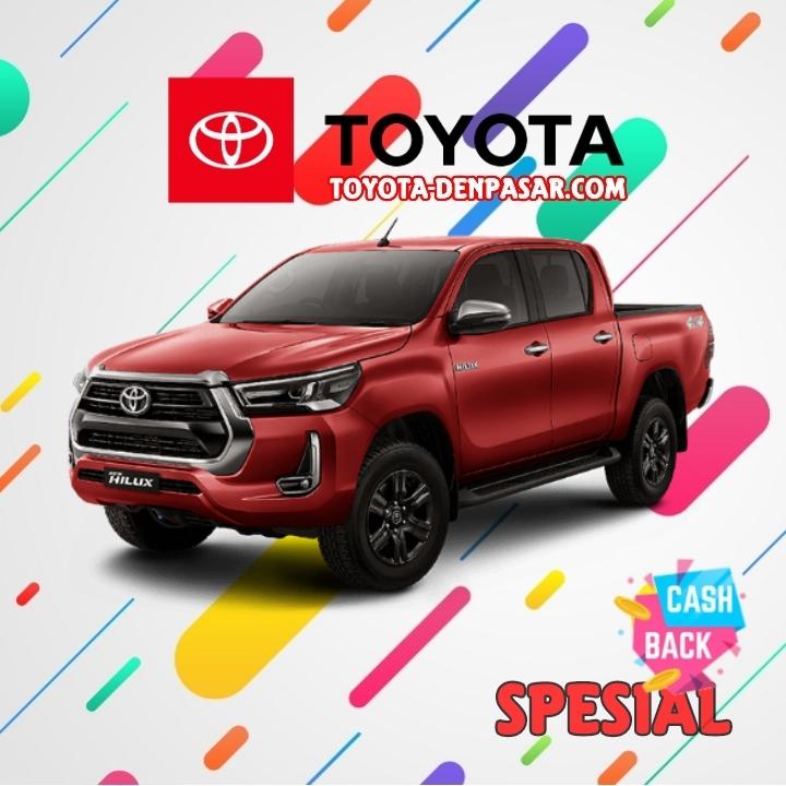 Toyota Denpasar - Lihat Spesifikasi New Hilux DC, Harga Toyota Hilux DC Bali dan Promo Toyota Hilux DC Bali terbaik hari ini.