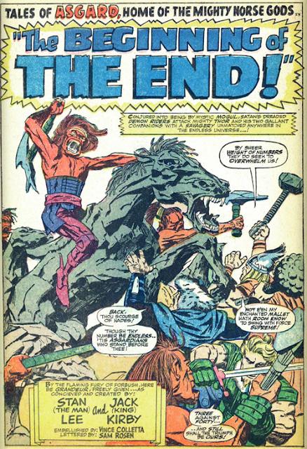 Thor 144 Jack Kirby Asgard