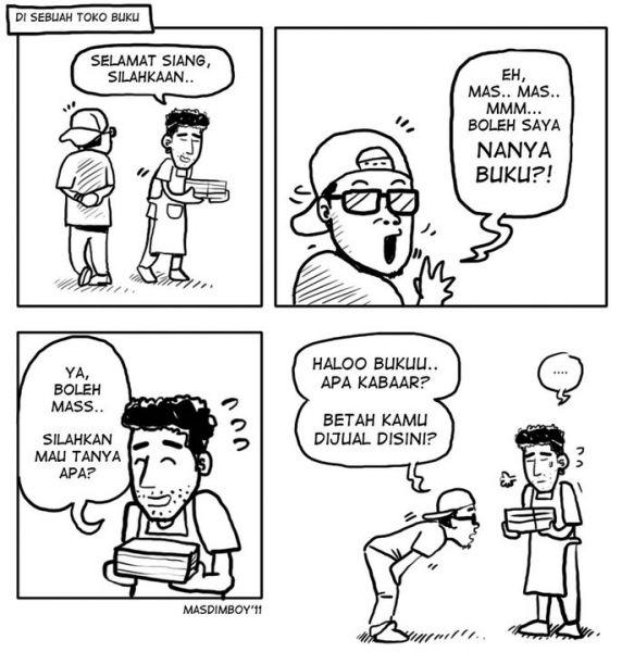 GilaLogika dot Blogspot dot Com komik Pendek lucu