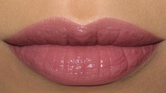 NARS Velvet Lip Glide Liquid Lipstick Swatch Bound Mauve Nude