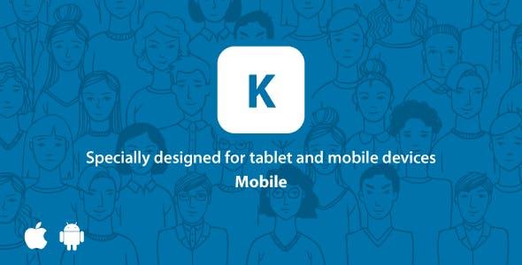 Kontackt - Mobile-Friendly (PHP Social Network) 1.12