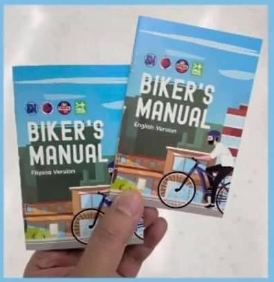 First-ever Biker's Manual - FREE in All SM Malls Nationwide
