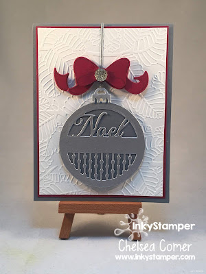 Lovely Ornament Card with Spellbinders