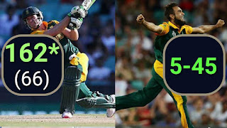 South Africa vs West Indies 19th Match ICC Cricket World Cup 2015 Highlights