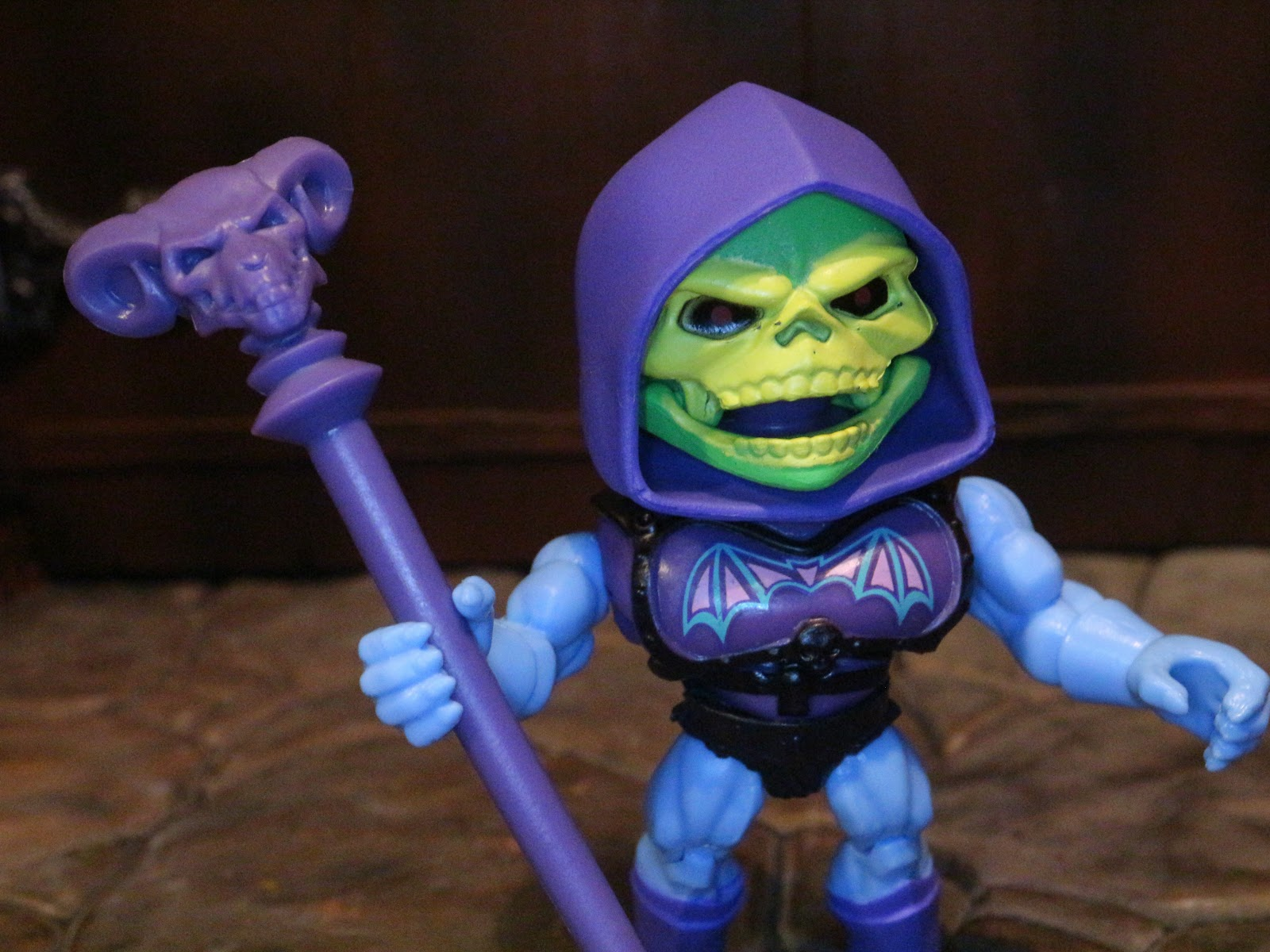 MASTERS OF THE UNIVERSE MOTU LOYAL SUBJECTS VINYL BATTLE ARMOR SKELETOR 1 OUT 6