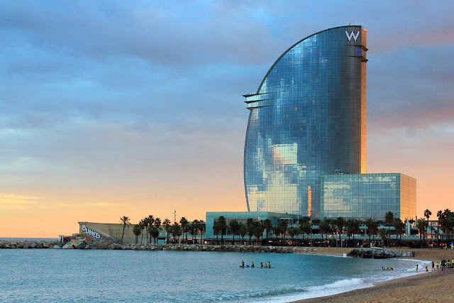 Travel, Lockdown 2020, Travel Agent, Barcelona, W Hotel