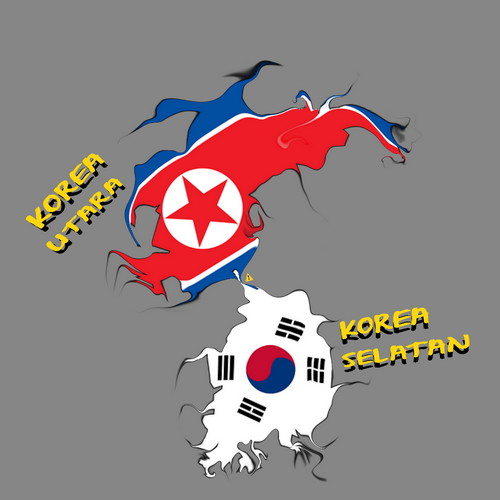 Begini Perbedaan Korea Utara dan Korea Selatan