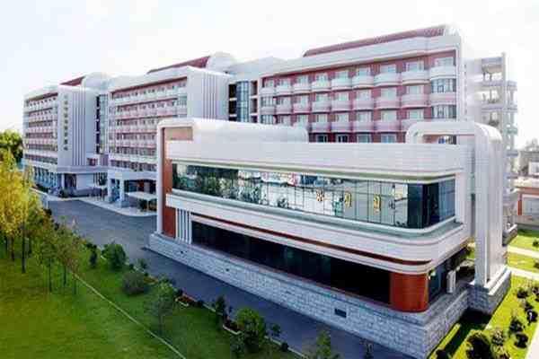 Textile Health Complex in Sinuiju City