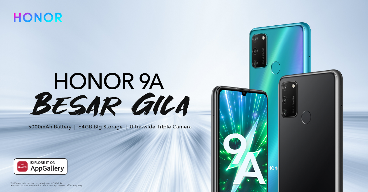 Honor 9A for RM549 and specification