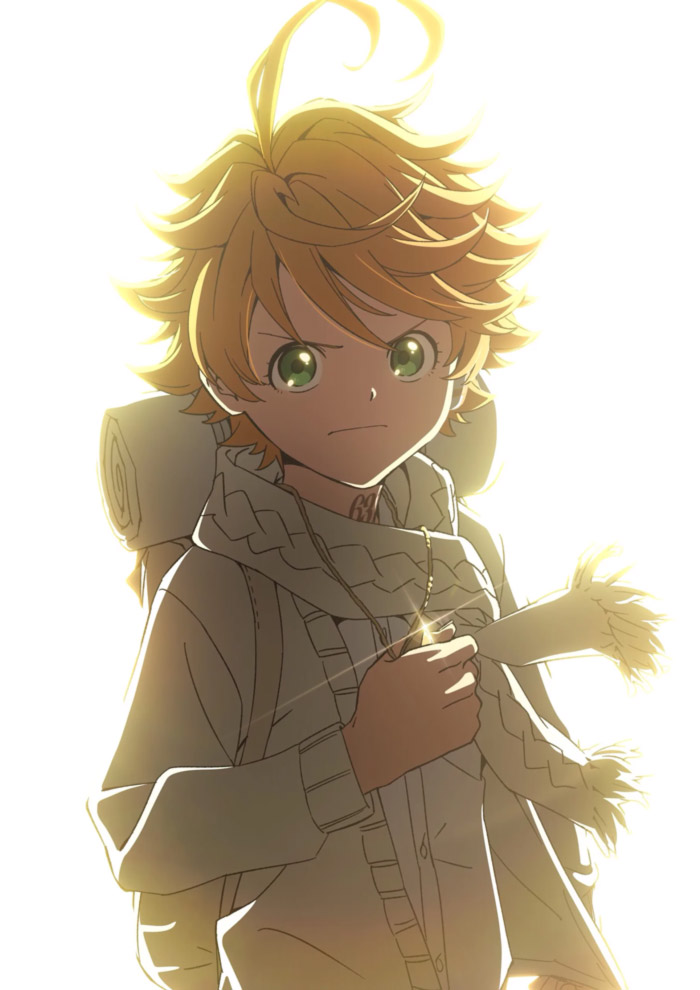 The Promised Neverland (Yakusoku no Neverland) anime - Temporada 2 - poster