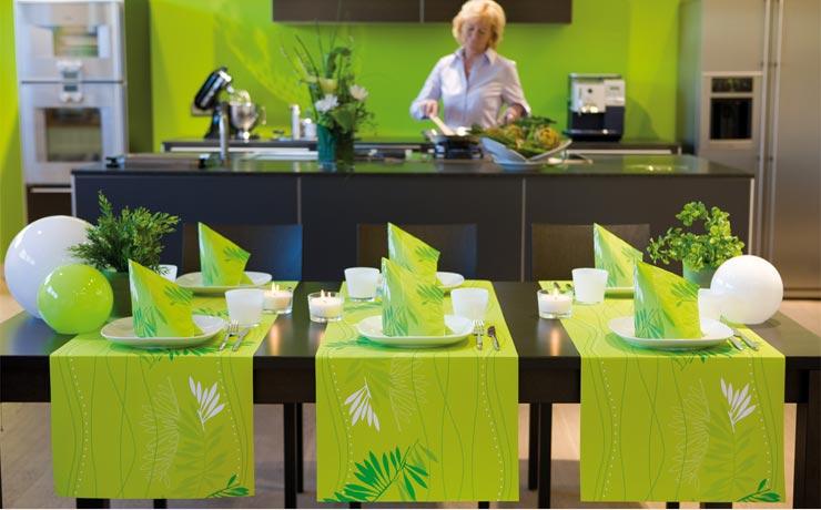 Parete Cucina Lavabile - Pareti Cucina Verde Mela - Smepool.com