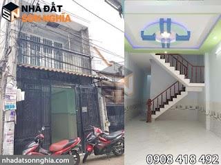 Bán nhà đường Hiệp Thành 7, phường Hiệp Thành, quận 12 - 4×14m giá 2,25 tỷ ( MS 041 )