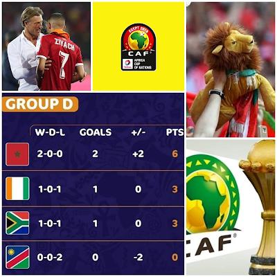 CAN Egypte-2019 : le Maroc s'offre la Côte d'Ivoire en deuxième journée et rejoint les huitièmes (1-0)