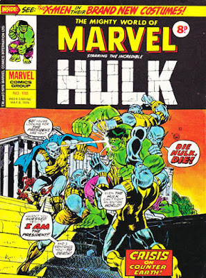Mighty World of Marvel #188, Hulk vs Man-Beast