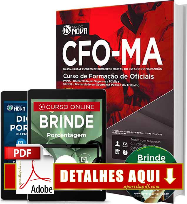 Apostila PM MA 2016 Polícia Militar do Maranhão Impressa
