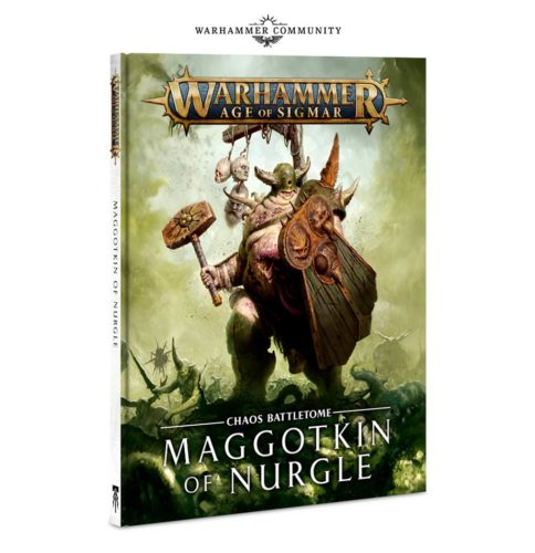 warhammer age of sigmar maggotkin of nurgle battletome cover artwork