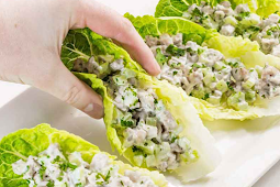 Keto Chicken Salad Wraps #vegan #recipevegetarian