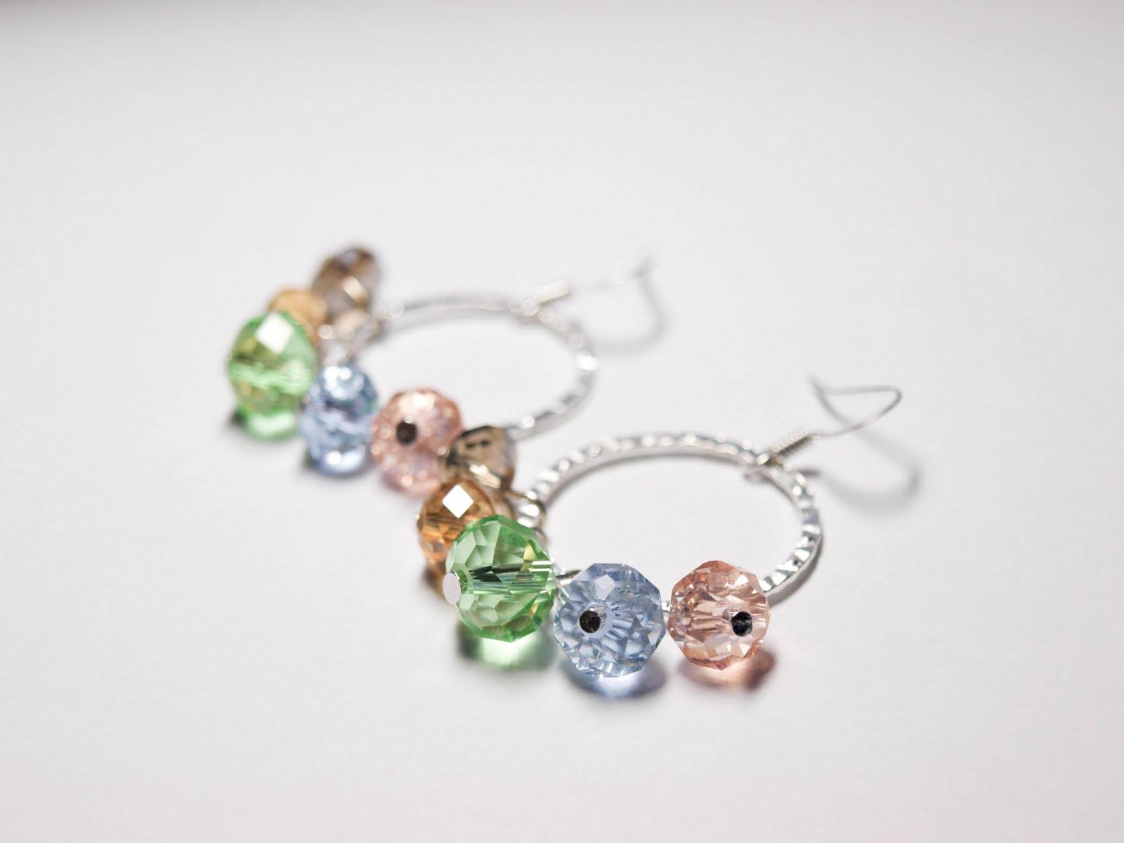 Cook~Love~Craft: DIY Loop Earrings