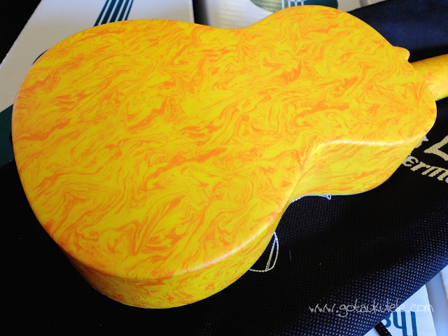 Makala Waterman Soprano Ukulele swirl back