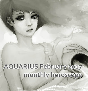 AQUARIUS February 2017 monthly horoscope forecast zone
