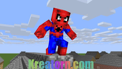 Minecraft Spiderman Skin