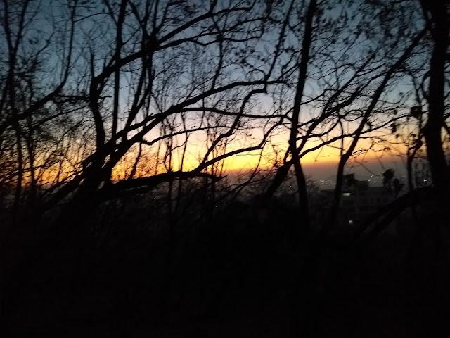 Pune, tekdi, morning walk,