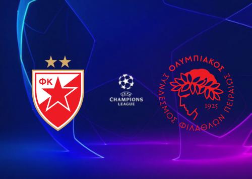 Crvena Zvezda vs Olympiakos Piraeus -Highlights 1 October 2019