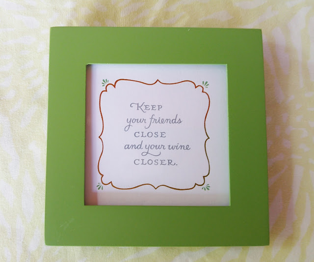 Keep your friends close picture frame #witty #homedecor #gifts