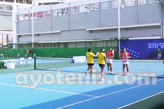 Tenis SEA Games: Ganda Putri Tenis Indonesia Selangkah Lagi Persembahkan Emas
