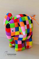 слон елмер, купить слона елмера. слоник елмер на заказ, Елмер слон ручной работы