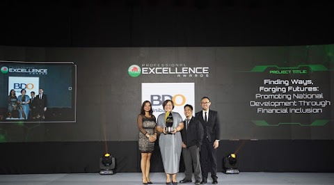 BDO bags the Award of Excellence in 17th Philippine Quill Awards