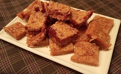 Whole Wheat Jam Crumble Bars, bar cookies are a baker's best friend.