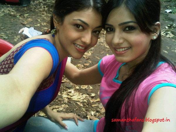 Samantha with Kajal Photos - SAMANTHA FANS   600 x 450 jpeg 88kB