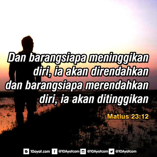 Matius 23:12