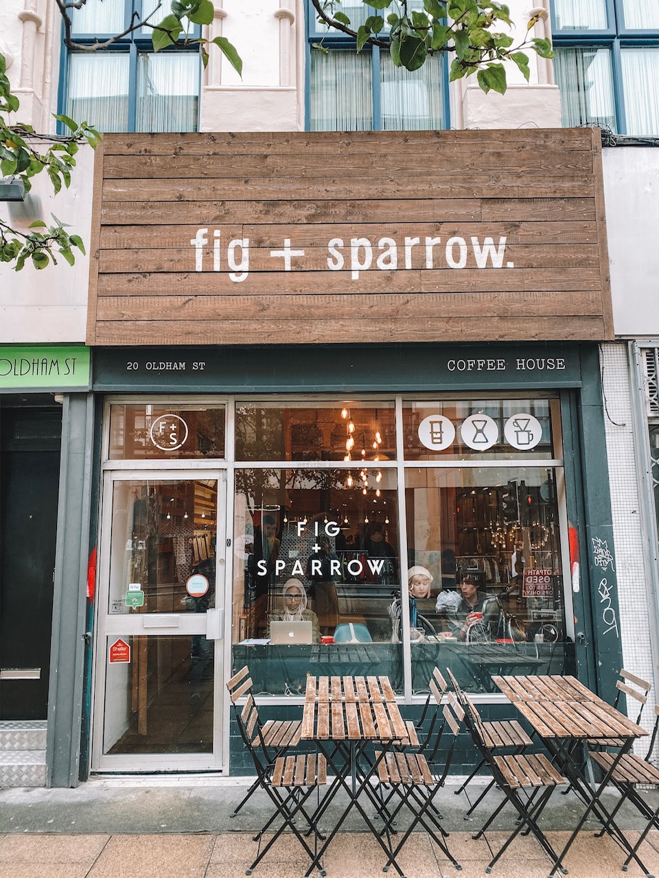 Travel blogger Amanda Martin shares where to eat in Manchester, UK. Fig and Sparrow has the best scones and clotted cream!