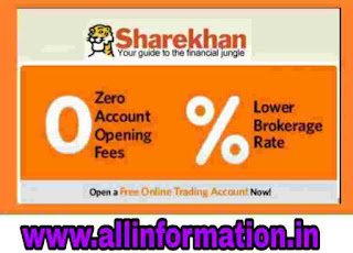 Sharekhan Demat & Trading Account Open kaise kare in Hindi