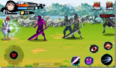 Cara Instal / pasang games Naruto Mobile Fighter di Android