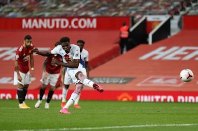 ملخص واهداف مباراة مانشستر يونايتد وكريستال بالاس (1-3) الدوري الانجليزي