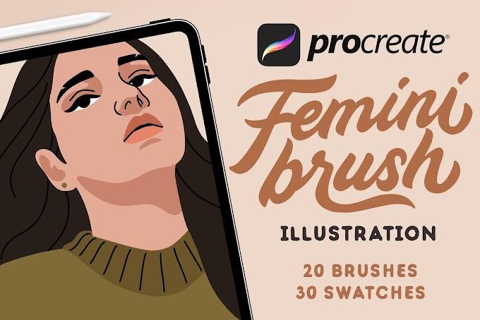 FeminiBrush - Procreate Brushes 4887975