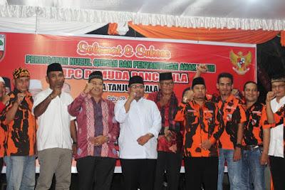 Kakan. Kemenag Tanjungbalai Hadiri Peringatan Nuzul Qur'an dan Penyantunan Anak Yatim MPC. PP