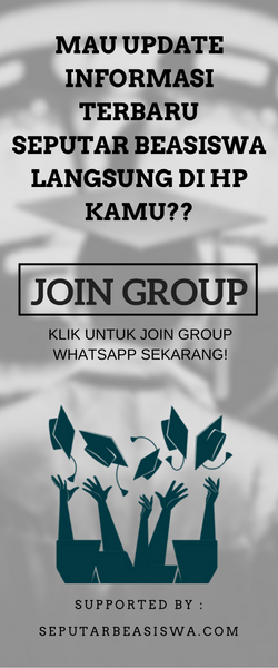 JOIN GROUP WHATSAPP SEPUTAR BEASISWA