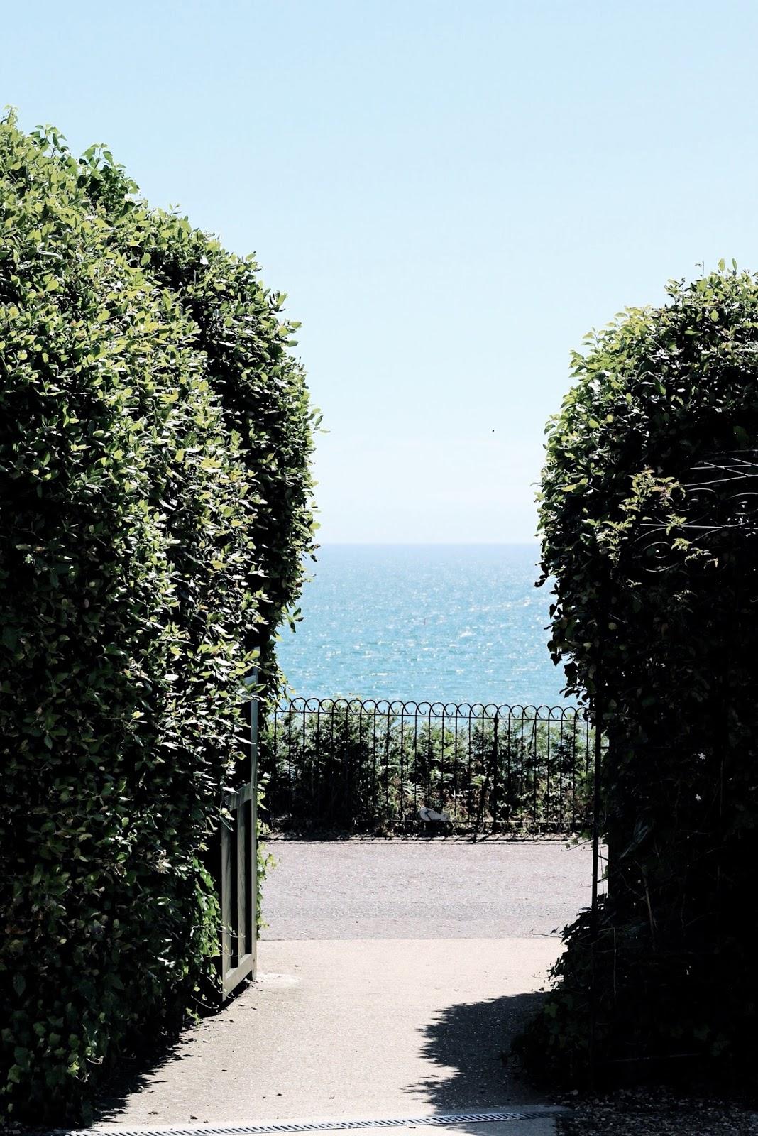 Summer seaside Bournemouth views