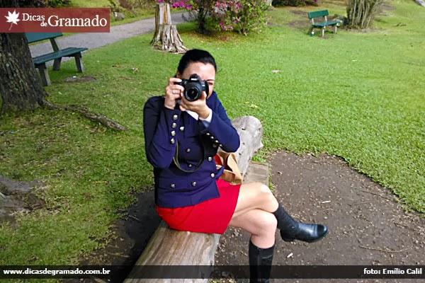 Fã de fotografia, Gramado é um prato cheio para Aline. Muitas das fotos que uso neste blog são dela.