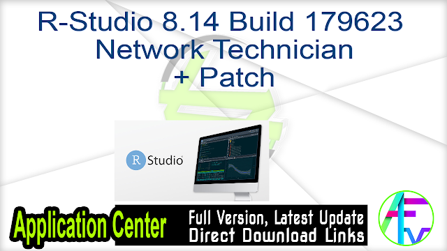 R-Studio 8.14 Build 179623 Network Technician + Patch