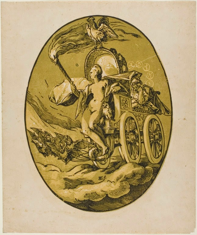 Night Hendrick Goltzius, Dutch artist, 1558-1617 Art Institute of Chicago, USA