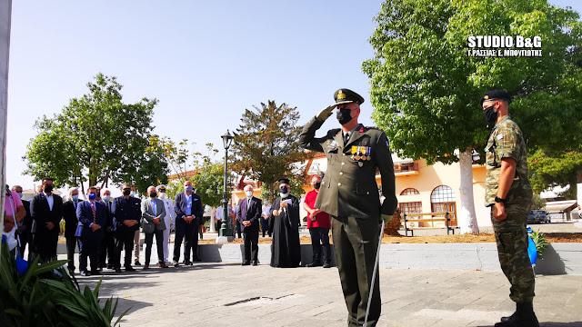 Αργολίδα: Ημέρα εθνικής μνήμης για την γενοκτονία των Ελλήνων της Μ. Ασίας στη Νέα Κίο (βίντεο)