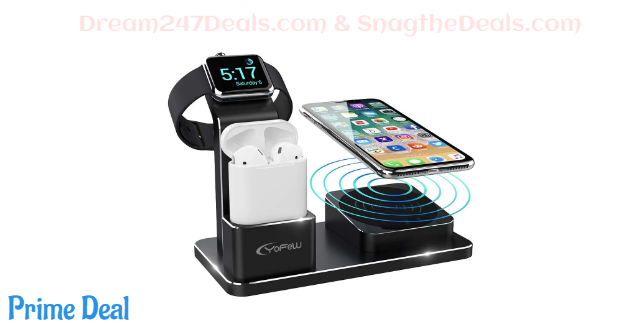 50% off [3 in 1] Charging Stand for Apple Watch,AirPods and iPhone