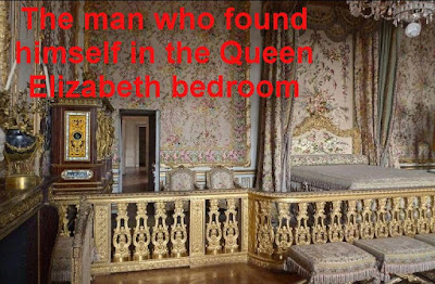 a man in the queen bedroom